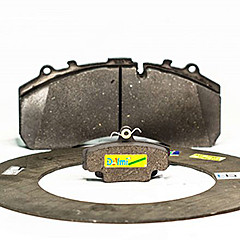 Friction materials (brake pads, linings, discs)