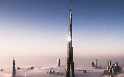 Burj Khalifa finishing panels